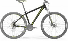 "Рама Merida Big.Nine 20-D black\green (frame-set), 17"" рост 160-177см"